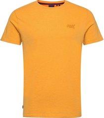 vintage logo emb tee t-shirts short-sleeved gul superdry