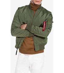 alpha industries ma-1 tt jackor green