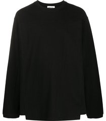 ambush panelled sweatshirt - black