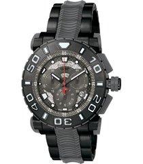 reloj invicta modelo 6315_out negro, gunmetal hombre