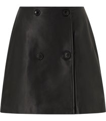 skinnkjol slfalberte mw leather skirt