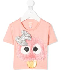 wauw capow by bangbang cute connie t-shirt - pink