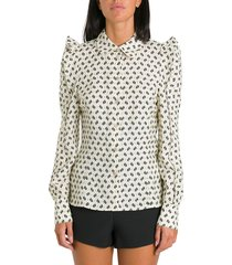 kenzo blouse with ruffles
