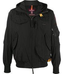 parajumpers gobi spring bomber jacket - black