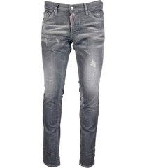 dsquared2 98% cotton 02% elastane jeans