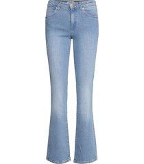 bootcut jeans utsvängda rosa wrangler