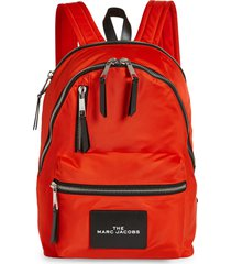 marc jacobs the pouch backpack - orange