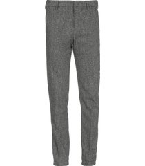 dondup harringbone trousers