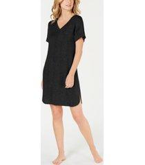 alfani ultra soft ribbed knit sleepshirt nightgown, created for macy's