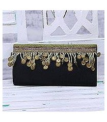 beaded clutch, 'evening glamour' (india)