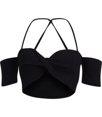 jacquemus cropped top