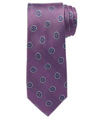 traveler collection oval medallion tie