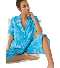 pijama capri camisero tropical multicolor women secret 492552190xl
