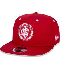 boné new era 950 original fit internacional futebol aba reta snapback