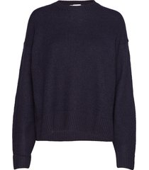 dover sweater gebreide trui blauw hope