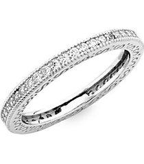 embellished sterling silver ring