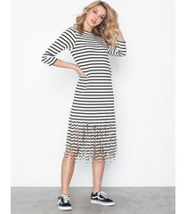 polo ralph lauren fringe dress-3/4 sleeve-casual dress loose fit dresses
