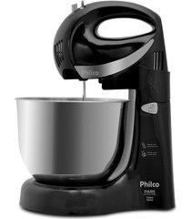 batedeira philco paris inox duo mixer turbo 2 preta 220v