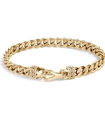 'asli classic chain' 18k gold curb link bracelet