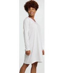 camisola feminina estampa bolinhas manga longa marisa