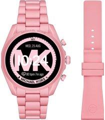 reloj fashion rosa michael kors access
