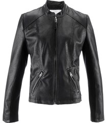 giacca in similpelle (nero) - bpc bonprix collection