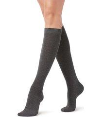 calze lunghe in cotone rasato