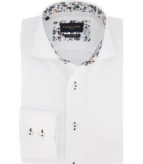cavallaro blouse wit bloemen in boord