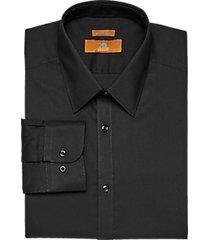 egara black extreme slim fit dress shirt