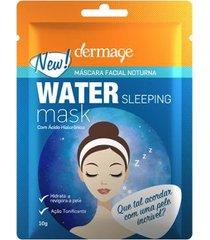 máscara facial dermage water sleeping 10g