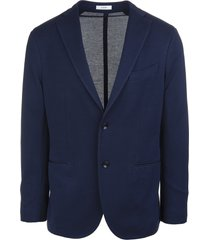 royal blue cotton man jacket