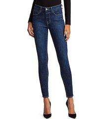 l'agence women's marguerite high-rise skinny jeans - utica - size 24 (0)