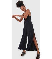 macacão roxy pantalona where you move preto