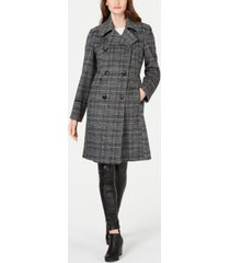 vince camuto double-breasted walker coat