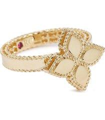 'princess flower' 18k yellow gold ring