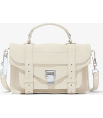 proenza schouler ps1 tiny bag clay/white one size