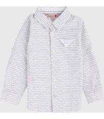 camisa blanco-negro boboli