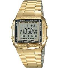 reloj casio db_360g_9a dorado acero inoxidable