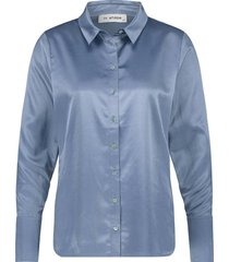 blouse kim blauw