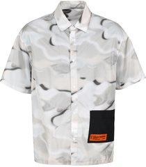 heron preston short sleeve nylon shirt