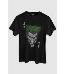 camiseta dc comics the joker card bandup!