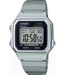 reloj casio b-650wd-1a digital 100% original-negro