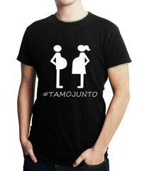 camiseta criativa urbana de gestantes frases engraçadas papai