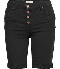 pzrosita shorts shorts denim shorts svart pulz jeans