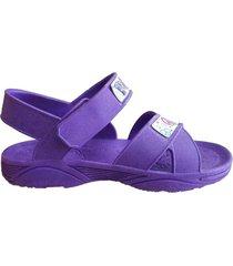 sandalia violeta skaylap linea gusti
