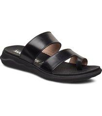 c-5620 shoes summer shoes flat sandals svart wonders