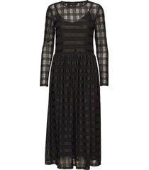 kyle midi dress knälång klänning svart soft rebels