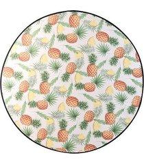 ręcznik plażowy okrągły pineapples