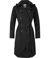 happyrainydays regenjas soft touch trenchcoat belize black