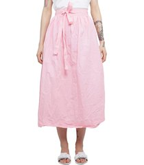 daniela gregis pink skirt